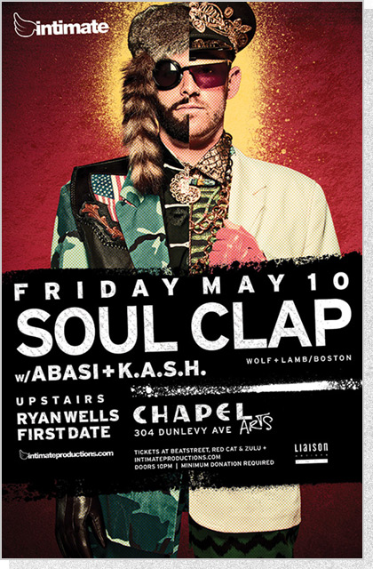 Intimate Poster - Soul Clap