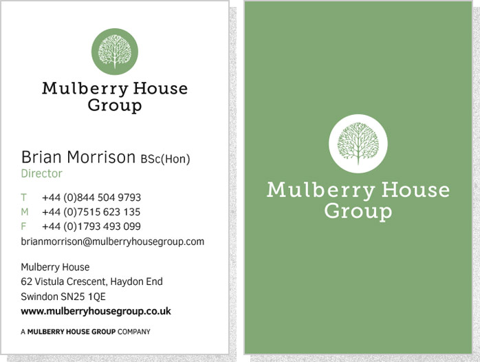 Mulberry House Group | Business Cards